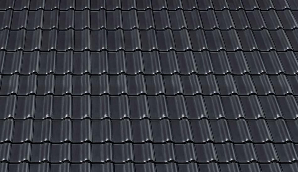 Dachziegel schwarz  Harmonica - günstige Baustoffe online.