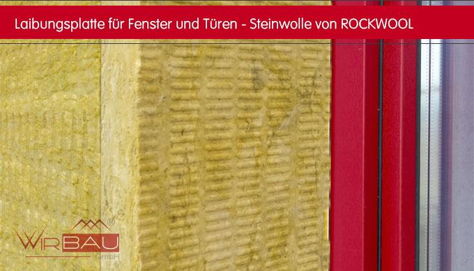 Fabulous Rockwool Laibungsplatte - günstige Baustoffe online. FA32