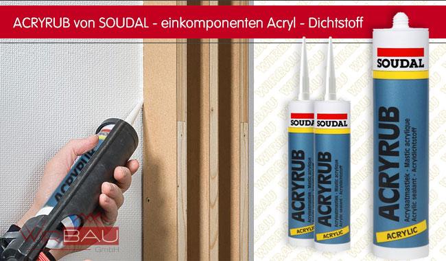 Acryl Dichtmasse, Maleracryl Für Außen- Und Innen