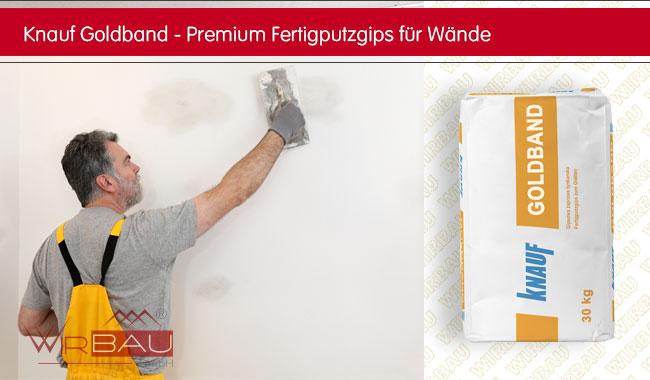 knauf goldband g nstige baustoffe online. Black Bedroom Furniture Sets. Home Design Ideas